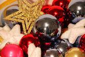 Новогодние украшения — Стоковое фото