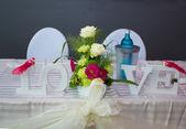 Hochzeits Dekoration — Stockfoto