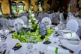 Hochzeits Dekoration — Stock Photo