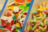 Assortment of candies  — Photo