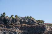 Mountains Gomera — Stock Photo