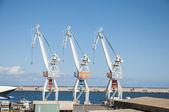Jeřábů přístavu — Stock fotografie