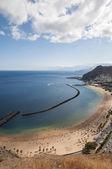 Teresitas beach of Tenerife  — Stockfoto