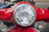 Color red motorcycle  — Stock Photo