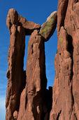 Balanced Rocks, Garden of the Gods — Stock Photo