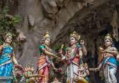 индуистские статуи в бату пещеры, малайзия — Стоковое фото