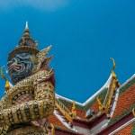 Buddhist Temple Sculptures — Stock Photo #55299025