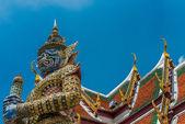 Buddhist Temple Sculptures — Stock Photo