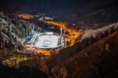 Medeo (Medeu) rink in Almaty — Stok fotoğraf