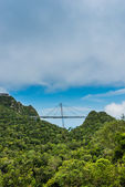 Langkawi skybridge scenic view — Stock Photo