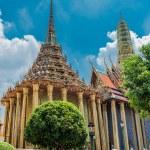 Wat Phra Kaeo, Temple Bangkok, Asia Thailand — Stock Photo #63116365