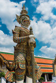 Giant in the grand palace — Stock Photo