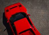 Ferrari Overhead — Stock Photo