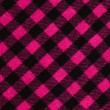 Closeup on checkered tablecloth wool fabric. — Stock Photo #64021843