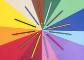 紙に色鉛筆. — ストック写真