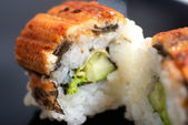Japanese sushi roll Canada — Stock Photo