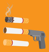 Stop smoking — Stock Vector