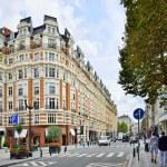 Popular area in center of Brussels, Belgium — Stock Photo #55962763