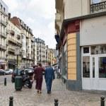 Popular area in Brussels near Molenbeek — Stock Photo #55962771