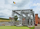 Hydraulic boat Lift Number 1 of Louviere in Houdeng-Goegnies — Foto de Stock