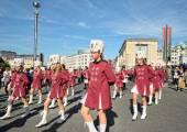 Royale Fanfare Communale de Huissignies, Brussels, Belgium — Stock Photo