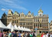 Belgian Beer Weekend in Brussels, Belgium — Stock Photo