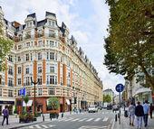 Popüler bölge Merkezi Brüksel, Belçika — Stok fotoğraf