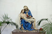 Church Notre-Dame aux Riches-Claires, Brussels, Belgium — Stockfoto
