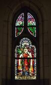 Collegiate Saint-Martin and Saint-Hadelin or church of Saint-Martin of Vise. Belgium — Foto Stock