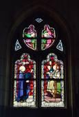 Collegiate Saint-Martin and Saint-Hadelin or church of Saint-Martin of Vise. Belgium — Stock Photo