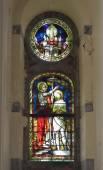 Collegiate Saint-Martin and Saint-Hadelin or church of Saint-Martin of Vise.Belgium — Stock Photo