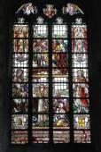 Collegiate Church Saint-Martin in Alost, Belgium — Stock Photo