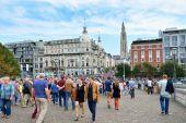 Commemoration events of World War I in Antwerp, Belgium — Stock Photo