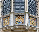 Exterior details of Steen Castle of Antwerp, Belgium — Stock Photo