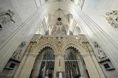 Interior of St. Rumbold's Cathedral. Mechelen, Belgium — Stock Photo