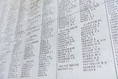 The Menin Gate Memorial to the Missing in Ypres, Belgium — Stock Photo