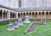 Collegiate Church of Saint Gertrude in Nivelles, Belgium — Stock Photo