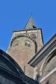 Collegiate church of Saint-Denis of Liege — Stock Photo