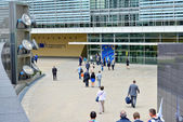 European Commission headquarter in Brussels — Stock Photo