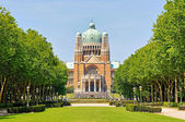 Koekelberg basilica in Brussels — Stock Photo