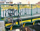 Abandoned bicycles — Stock Photo
