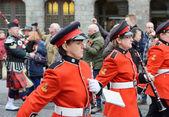 Parade in Ypres, Belgium — Stock Photo