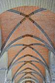 Collegiate Church of Saint Gertrude. Belgium — Stock Photo