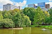 Parc Leopold in Brussels, Belgium — Stock Photo