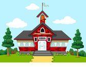 School building for you design — Stock Vector