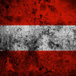 Grunge flag of Austria with capital in Vienna — Stock Photo #53987491