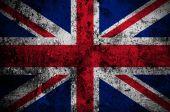 Grunge flag of United Kingdom — Stock Photo