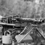 Heavy machine gun from second world war — Stock Photo #56261015