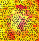 Abstract mosaic, background illustration of mosaic — 图库照片