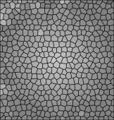 Abstrakt Grå mosaik, bakgrund illustration av mosaik — Stockfoto